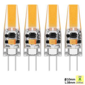 10x-G4-Dimmbar-COB-5Watt-AC-12V-LED-Lampe-Stiftsockel-Birne-Warmweiss-Halogen-10W