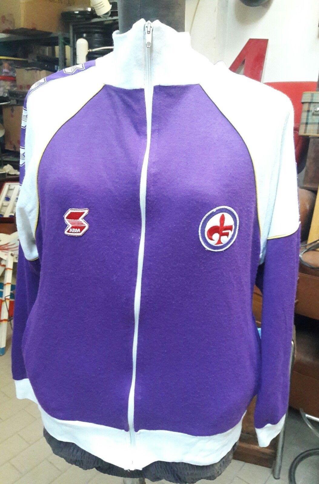 Maglia calcio tuta Abm in lanetta vintage vintage vintage AC Fiorentina Crodino ac0
