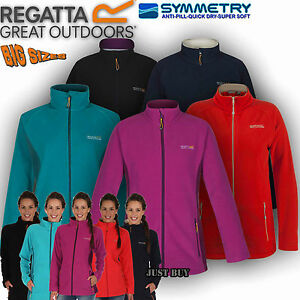 Regatta-Jacket-Womens-Cathie-Fleece-Walking-Hiking-Running-Outdoor-Gym-Work-Top