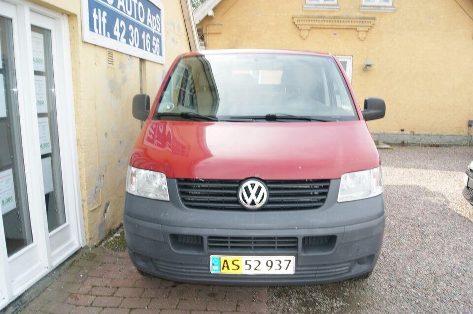 VW Transporter 2,5 TDi 130 Kassevogn Tiptr. kort Diesel