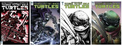 Teenage Mutant Ninja Turtle #1 Reprint TMNT Mike Vasquez Dark Leo Eastman IDW