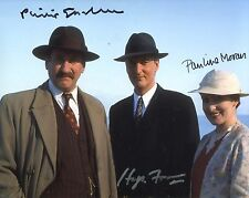 Agatha Christie's POIROT - CAST multi signed 8x10 photo