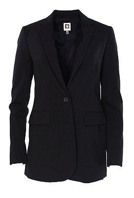 1211-2 Anne Klein Damen Business Anzug Blazer, Schwarz, 8$ 129.00 Moderate Kosten