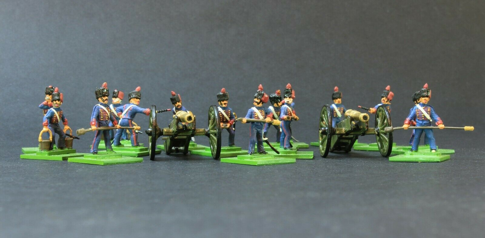 1 72 scale CONgreenED FRENCH ARTILLERY Napoleonic SUPERBLY PAINTED UNIQUE