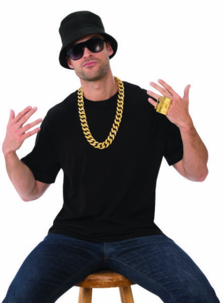 Adult 80/'s Old School Rapper HIP HOP DJ Hipster Cosplay Costume Glasses Black