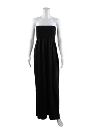 Womens Terranova Strapless Tube Top Long Maxi Dress Tunic Size 8 to 14 Ladies