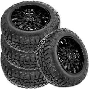 4 RBP Repulsor M/T RX 285/70R17LT 121/118Q 10-Ply/E Off-Road Truck Mud Tires