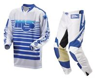 Msr Racing Vintage Motocross M9 Old Skool Pants + Jersey Set W30-xl