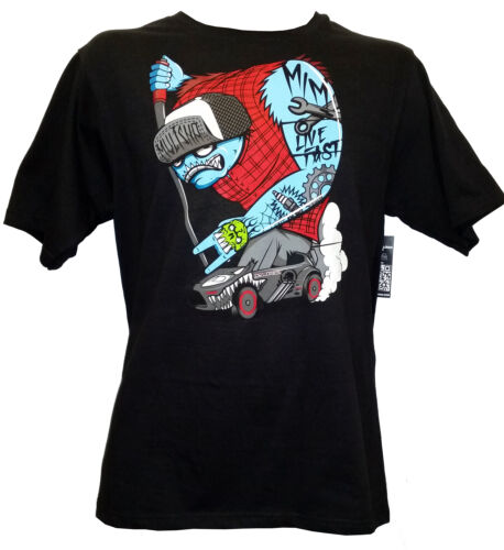 Kids Clothing Metal Mulisha Burn Boys Black Cotton T shirt FMX Style Youth