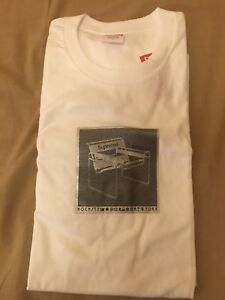 be10fd7b2 SUPREME CHAIR TEE WHITE SIZE LARGE SPRING SUMMER 18 SS18 IN HANDS ...