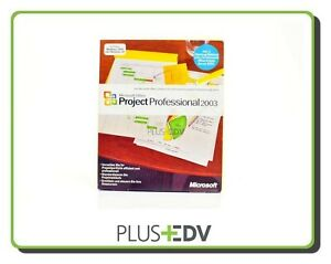 Microsoft Project Professional 2003 Vollversion deutsch H30-00516