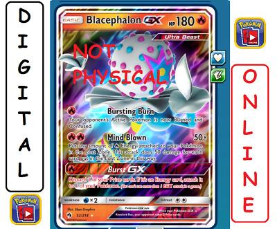 1X Blacephalon GX 52//214 Online Card Pokemon Card TCG PTCGO Digital Card