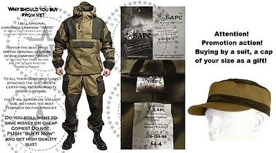 """Gorka 4 """"BARS"""" Original Russian Army Military Special Suit Hunting Fishing +GIFT"""