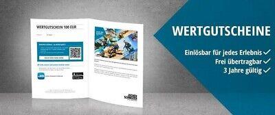 Jochen Schweizer Geschenkgutschein Wertgutschein 350 EUR