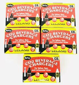 Leland Soda Chargers Seltzer Chargers CO2 40 count Pack 2-