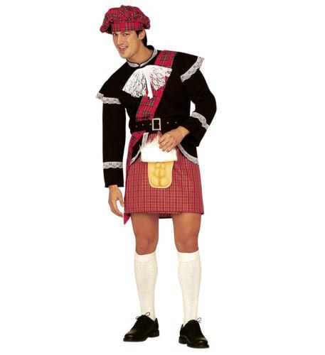 SCHOTTENROCK MIT ÜBERRASCHUNG # Schottenkostüm Kilt Rock Schottland Kostüm 5383