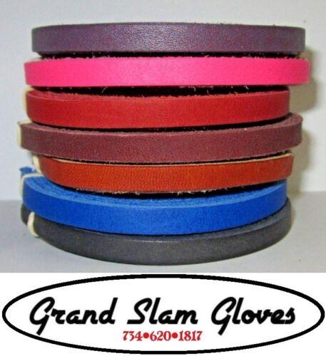Baseball et Softball Glove Laçage Kit ~ 2 Lacets ~ 5 Laçage outil/aiguille ~ 7 Couleurs