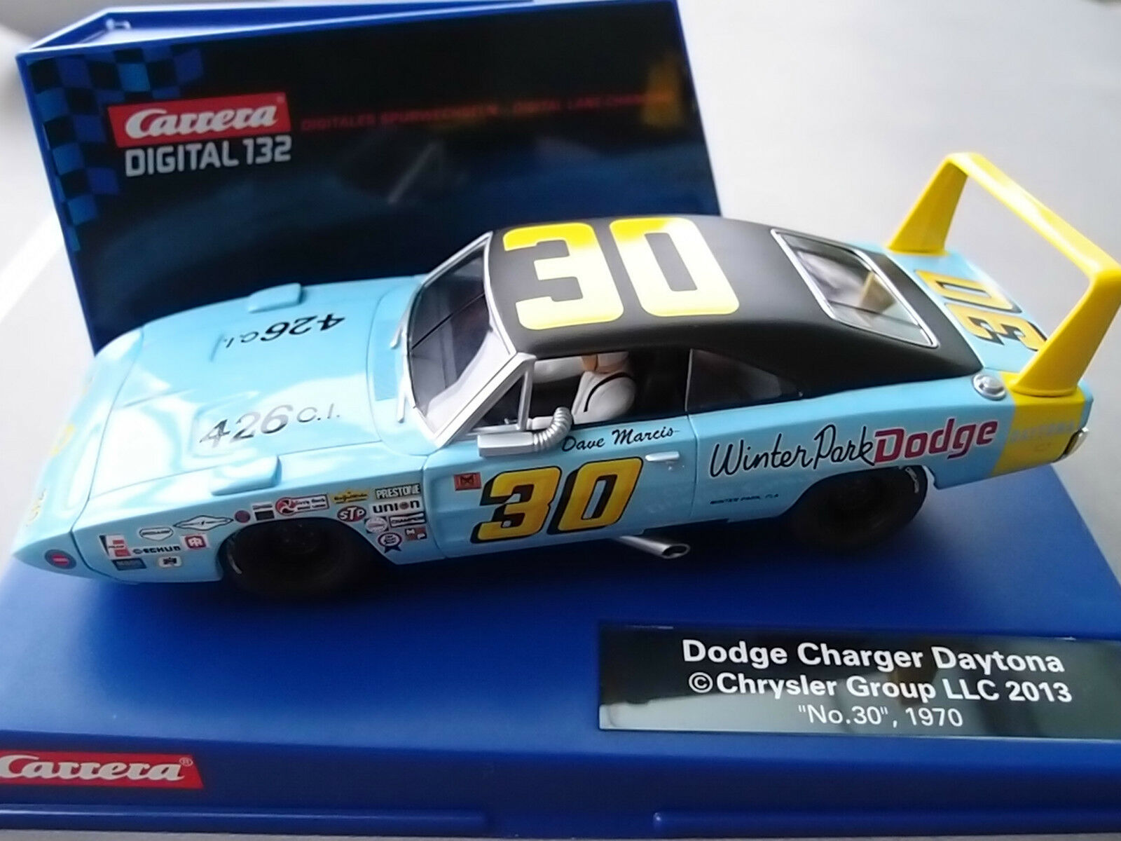 Carrera Digital 132 30652 Dodge Charger Daytona   No.30  , 1970 Nip