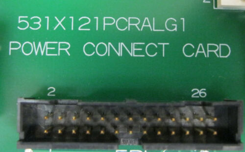 GE Power Connect Card  531X121PCRALG1  New Surplus