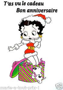 Carte Postale D Anniversaire Betty Boop Mere Noel Bon Anniversaire Cadeau Sexy Ebay