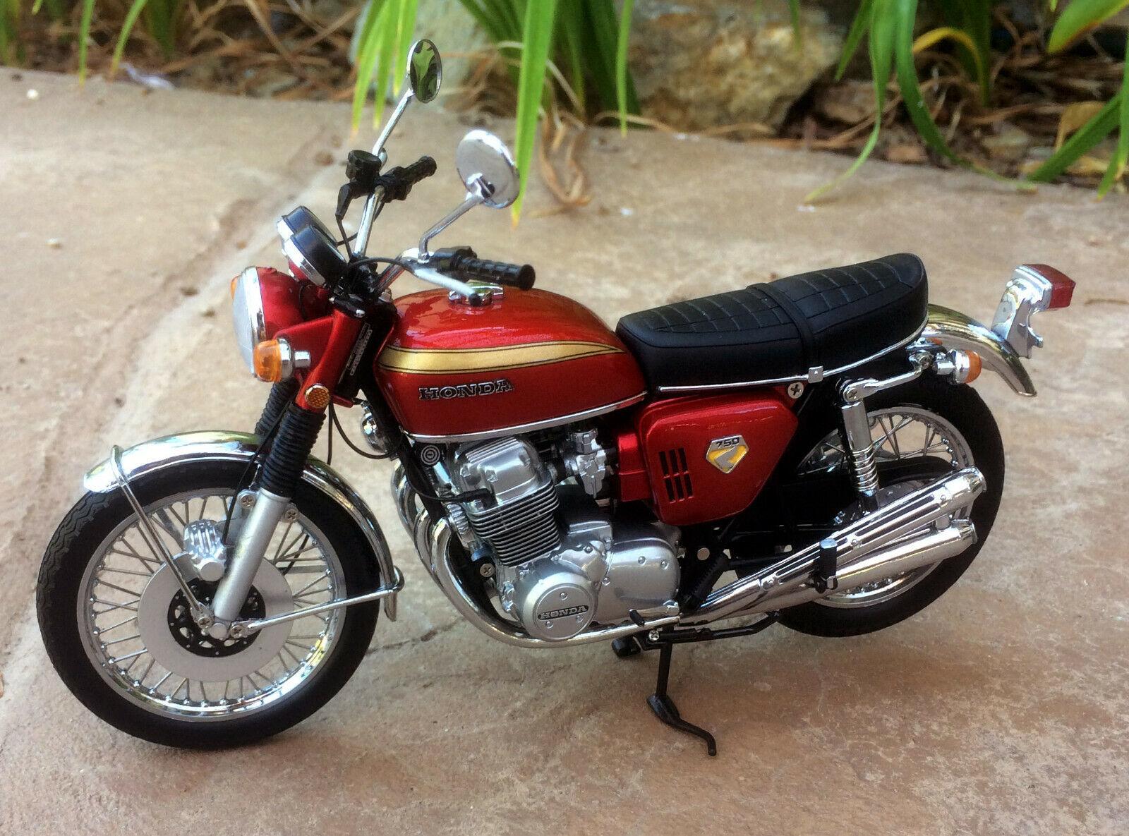 1968 Honda CB750 Fyra K0 Rött EXTRALY RARE 1 12 Minichamps 122161002 New IOB