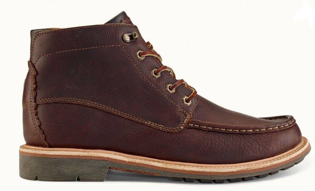 OLUKAI - Kohala Stiefel - 10 - Dk Wood Wood Wood - Leather - braun -  200 66dfcf