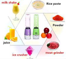 Shake N Take 3 Juice Smoothie Blender with 2 Sport Bottles