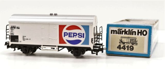 4419 Marklin Vintage HO Carro Frigo trasporto Pepsi delle DB scala 1:87
