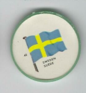1963-General-Mills-Flags-of-the-World-Premium-Coins-42-Sweden