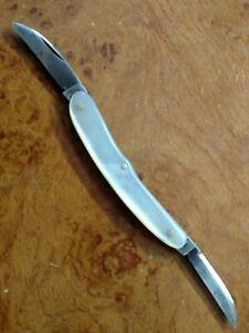 VINTAGE-1844-1936-HOLLEY-MFG-CO-LAKEVILLE-CT-2-5-034-MOP-SCALE-FOLDING-POCKET-KNIFE