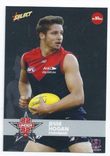 2015 Select AFLPA Under 22 Team Jess HOGAN Melbourne