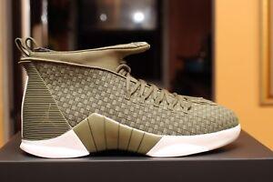 Details about Nike Air Jordan 15 Retro PSNY SIZE 10.5 Ds Authentic #AO2568 200 WREC