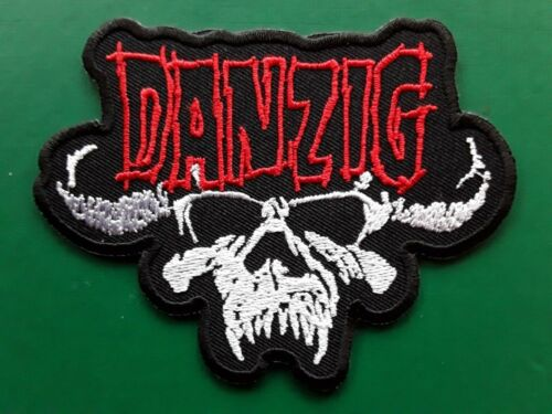 DANZIG AMERICAN HEAVY METAL HARD ROCK MUSIC BAND EMBROIDERED PATCH UK SELLER