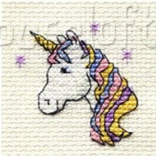 Mouseloft Mini Cross Stitch Kit-stitchlet Collection #4 ** BUY 3-15/% di sconto **