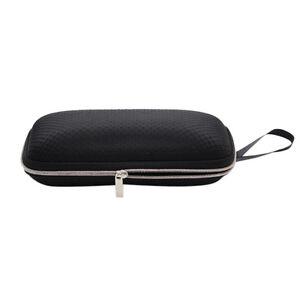 fe45f3e99b Image is loading Hard-Portable-Rectangle-Grid-Zipper-Glasses-Case-Eyewear-