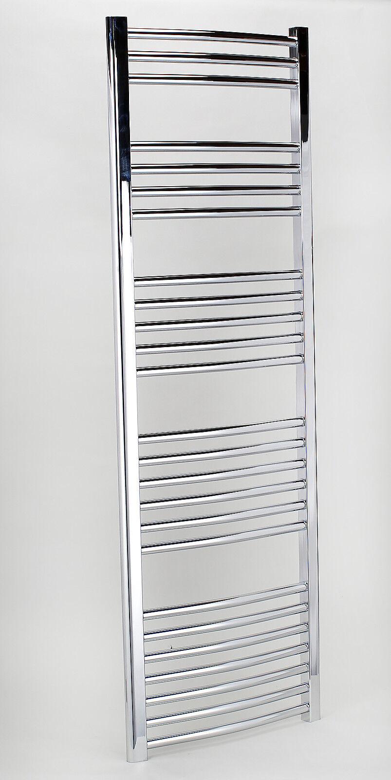 Designer Designer Designer Chrome Electric 600mm wide Towel Rails Heated Towel Warmer Bathroom 1cb0ea