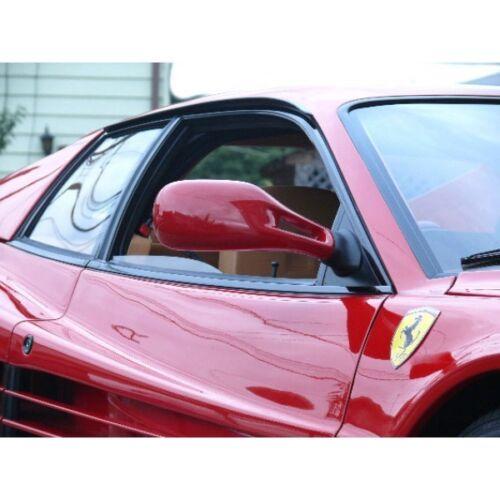 Ferrari Rectangular Genuine Hood Bonnet Resin Sticker Decal Emblem Badge Shield