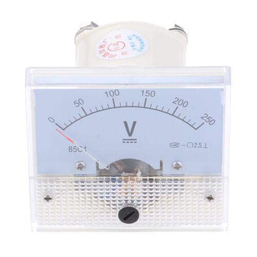 0-15 85C1-V Panel DC Voltmeter Analog Spannungs Messgerät 0-5 V 0-10 V