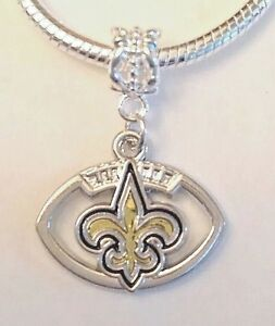 Details About New Orleans Saints Charm For Bracelet Football Quality Fast Ship Usa