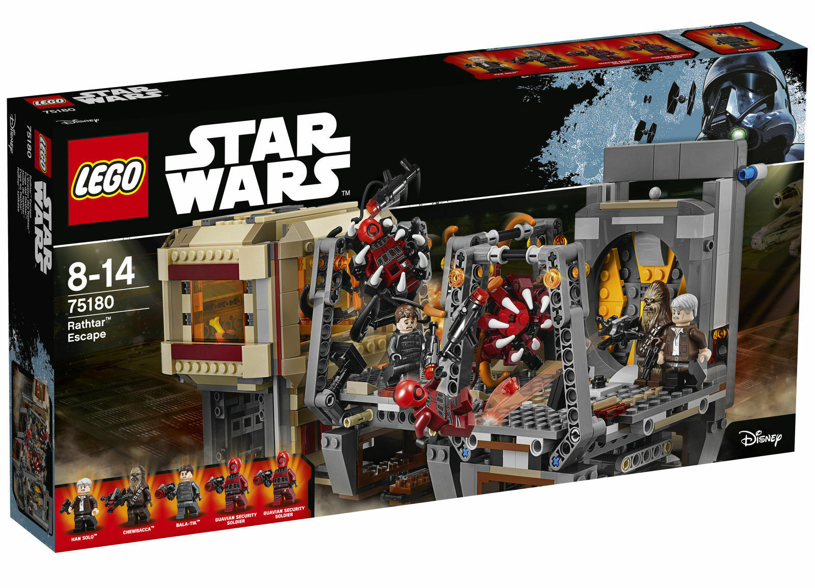LEGO Star Wars Rathtar Escape  75180 - NEW  FACTORY SEALED