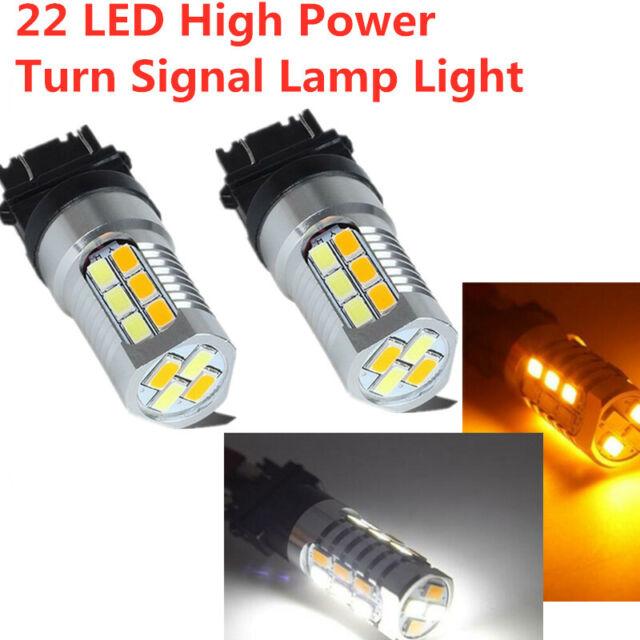 2P 144-SMD 3157 LED Lights Reverse Backup Signal Bulb 6000K White FIT Chevrolet