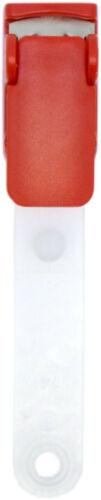 10 Stk Metallclip Kartenclip Hosenträgerclip Clips für Ausweishüllen Bandclips