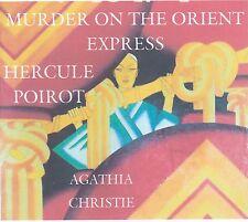Agatha Christie Hercule Poirot Murder Orient Express 5 audio cds 2 radio shows