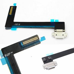 Details about For iPad Air 2 White Dock Connector USB Charging Port  Replacement