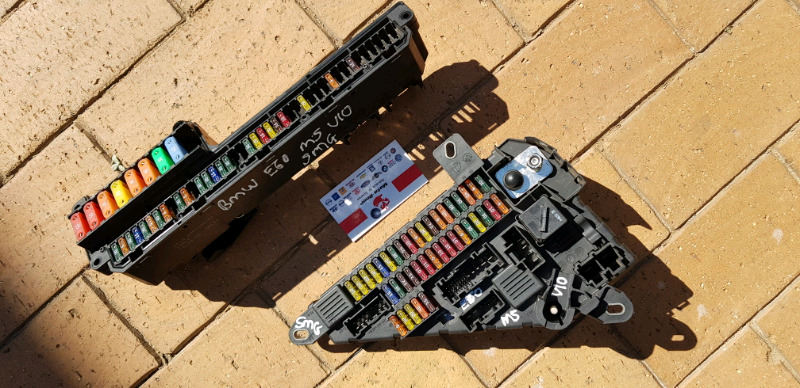 BMW E60 M5 V10 Cabin fuse boxes | Northgate | Gumtree Clifieds South Xc Cabin Fuse Box on