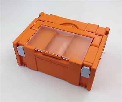 Systainer Classic Gr2 orange mit Deckelsortierfach