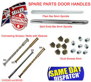 Image is loading Connecting-Bolts-and-Sleeve-Bar-Spindles-Grub-Screws-  sc 1 st  eBay & Connecting Bolts and Sleeve Bar Spindles Grub Screws Spare Parts ...