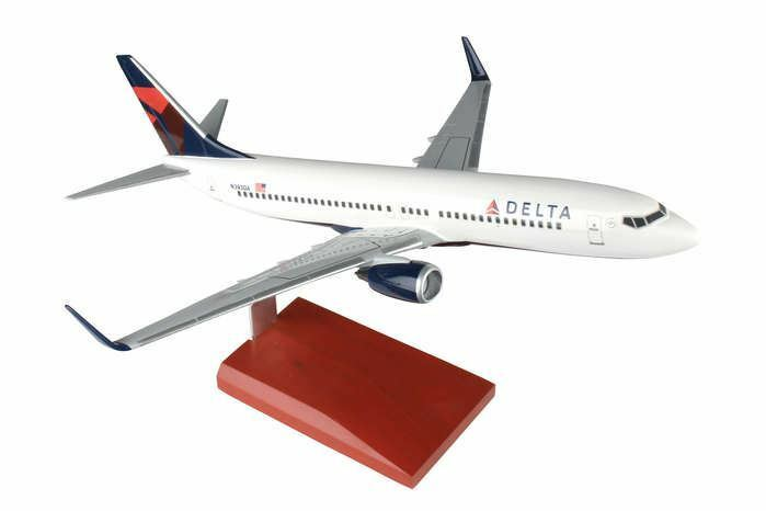 G53100 Delta Airlines B737 -800 1 100 New Livery modellllerler Airplan