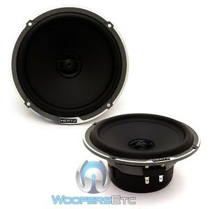 Hertz Mpx165 3 Mille 6 5 Pro 100w Rms 2 Way Motorcycle Car Coaxial Speakers New Ebay