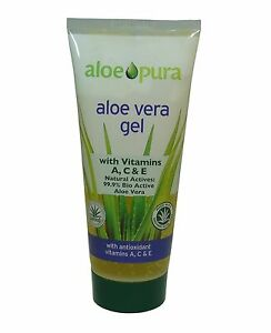 Aloe-Pura-Organique-Aloe-Vera-avec-vitamine-A-C-E-GEL-200ml-Produit-certifie